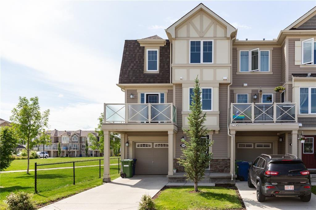 Main Photo: 145 WINDSTONE Avenue SW: Airdrie Row/Townhouse for sale : MLS®# C4260990