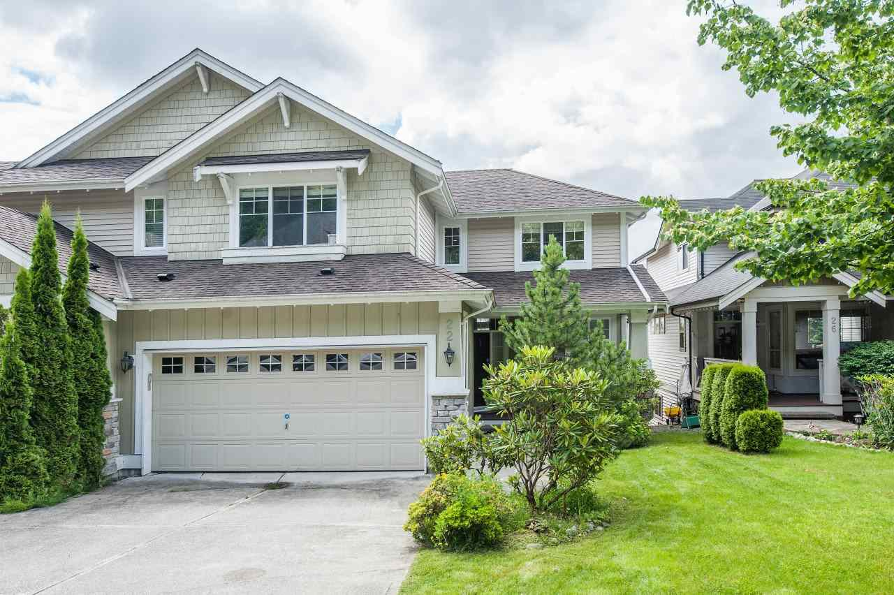 Main Photo: 22 HICKORY Drive in Port Moody: Heritage Woods PM House 1/2 Duplex for sale : MLS®# R2474810