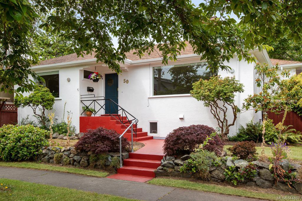 Main Photo: 50 Cambridge St in Victoria: Vi Fairfield West Half Duplex for sale : MLS®# 844807