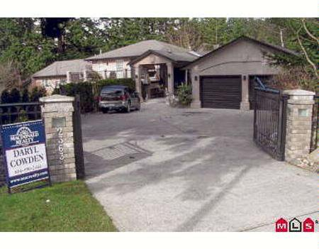 Main Photo: 2363 131A ST in White Rock: Land for sale (Elgin/Chantrell)  : MLS®# F2703529