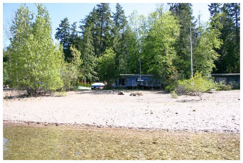 Main Photo: 2477 Rocky Point Road in Blind Bay: Waterfront House for sale (Shuswap)  : MLS®# 10064890