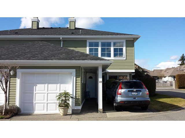"Main Photo: 49 8428 VENTURE Way in Surrey: Fleetwood Tynehead Townhouse for sale in ""Summerwood"" : MLS®# F1403367"
