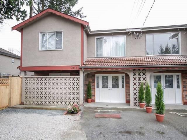Main Photo: 9815 124 Street in Surrey: Cedar Hills 1/2 Duplex for sale (North Surrey)  : MLS®# R2045208
