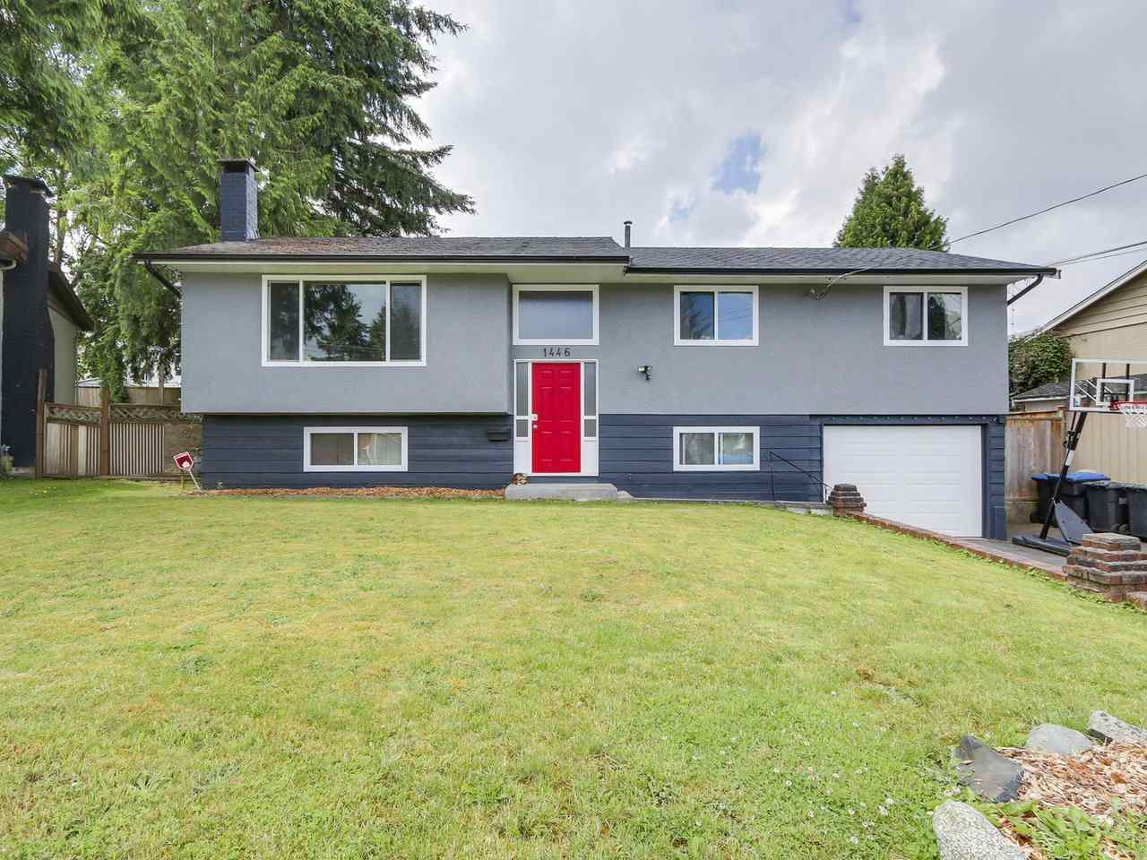 Main Photo: 1446 MCDONALD Place in Port Coquitlam: Lower Mary Hill House for sale : MLS®# R2187776