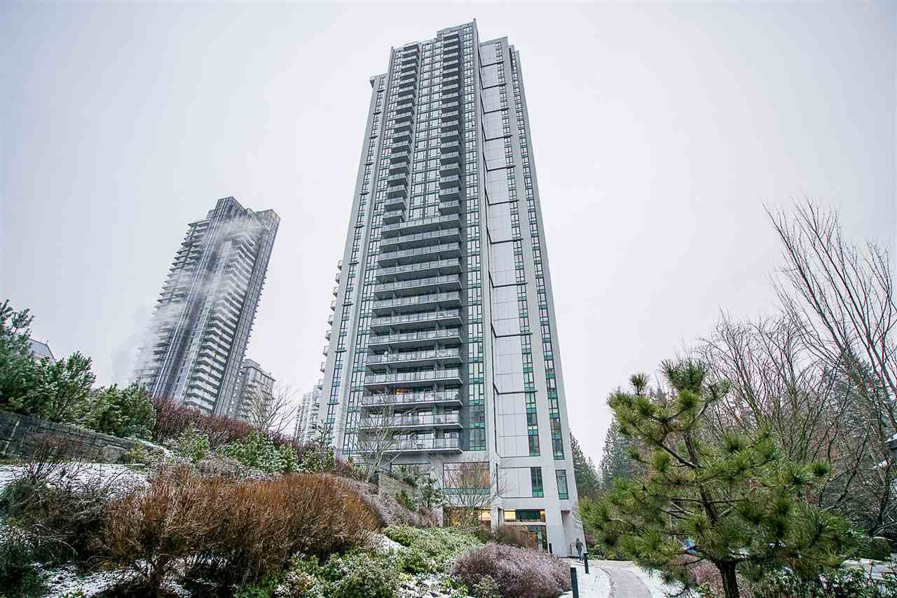"Main Photo: 709 1178 HEFFLEY Crescent in Coquitlam: North Coquitlam Condo for sale in ""OBELISK"" : MLS®# R2228773"