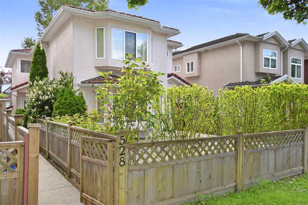 Main Photo: 528 E 44TH Avenue in Vancouver: Fraser VE House 1/2 Duplex for sale (Vancouver East)  : MLS®# R2267554