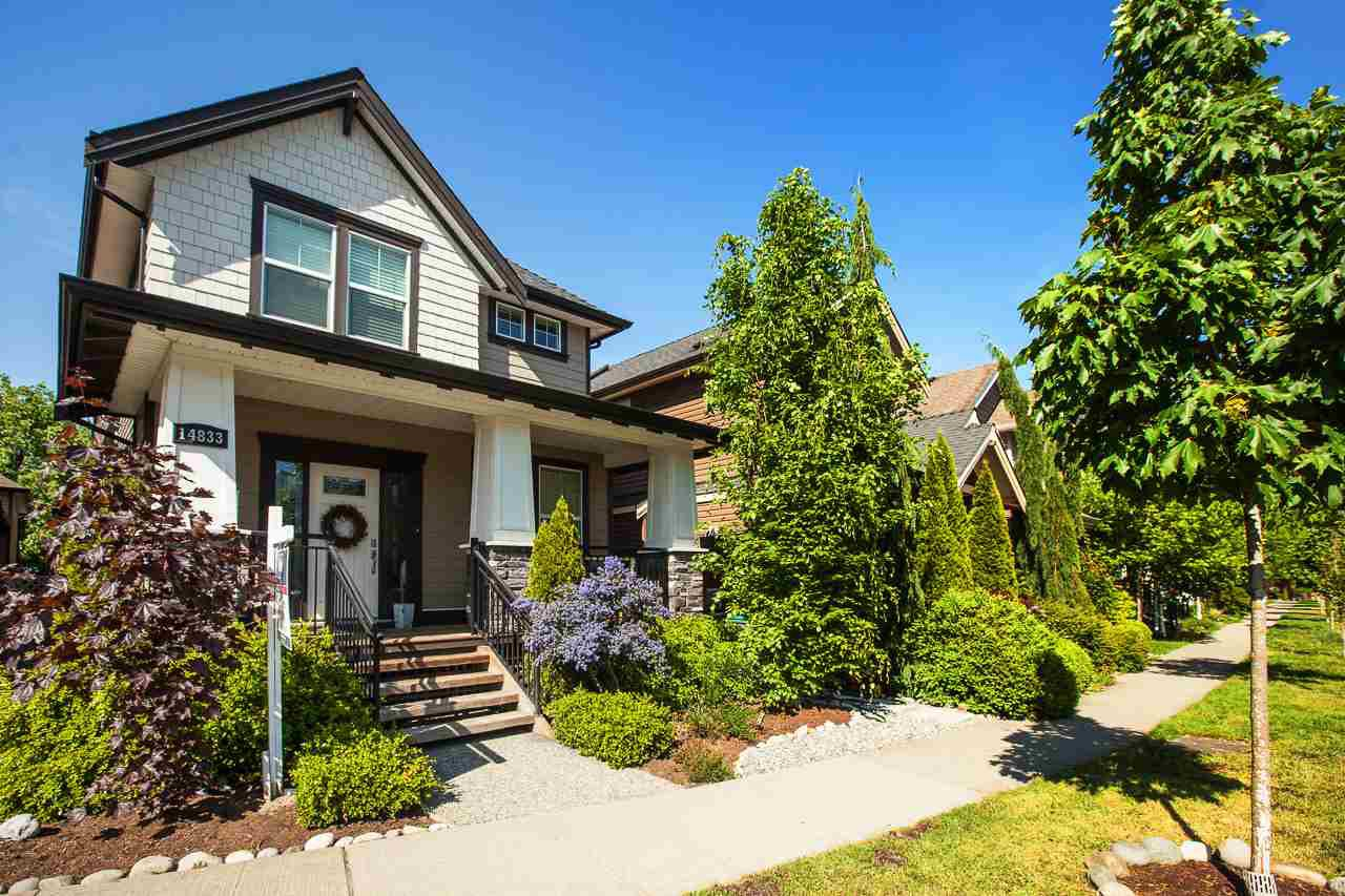Photo 1: Photos: 14833 59A Avenue in Surrey: Sullivan Station House for sale : MLS®# R2305431