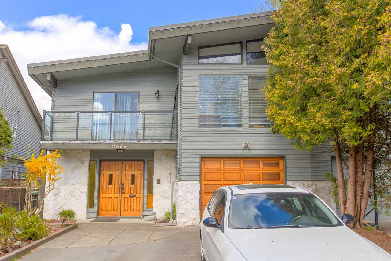 Main Photo: 2665 EAGLERIDGE Drive in Coquitlam: Eagle Ridge CQ 1/2 Duplex for sale : MLS®# R2383263