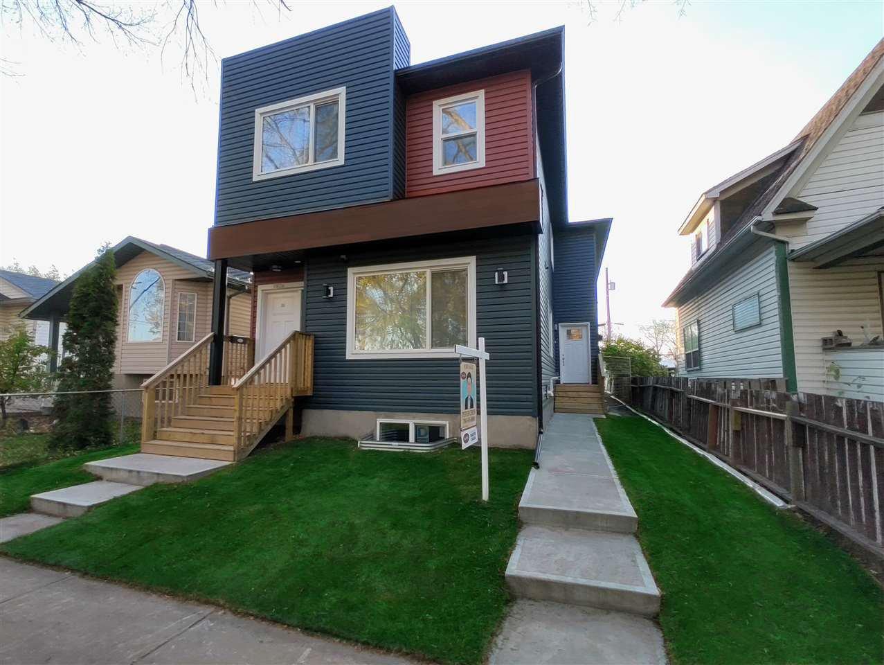 Main Photo: 11828 78 Street NW in Edmonton: Zone 05 House Half Duplex for sale : MLS®# E4174361
