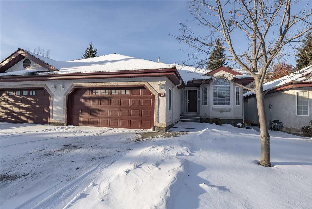 Main Photo: 33 1203 CARTER CREST Road in Edmonton: Zone 14 House Half Duplex for sale : MLS®# E4223406