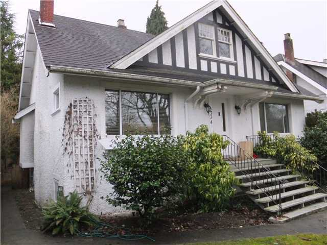 Main Photo: 3734 W KING EDWARD Avenue in Vancouver: Dunbar House for sale (Vancouver West)  : MLS®# V989339