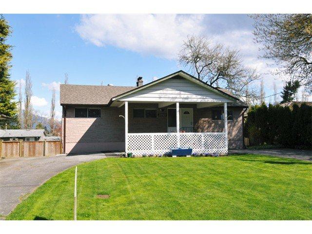 Main Photo: 21643 EXETER AV in Maple Ridge: West Central House for sale : MLS®# V1001182