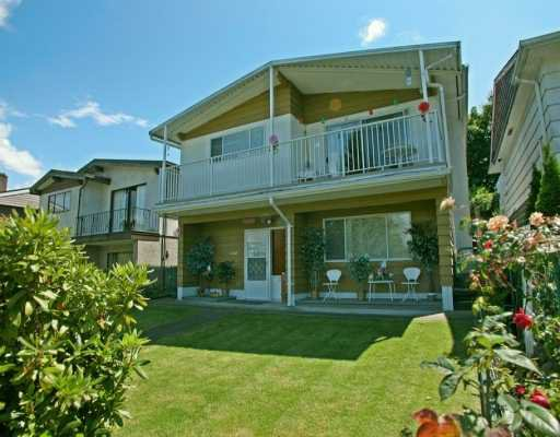 Main Photo: 4120 YALE ST in Burnaby: Vancouver Heights House for sale (Burnaby North)  : MLS®# V597970