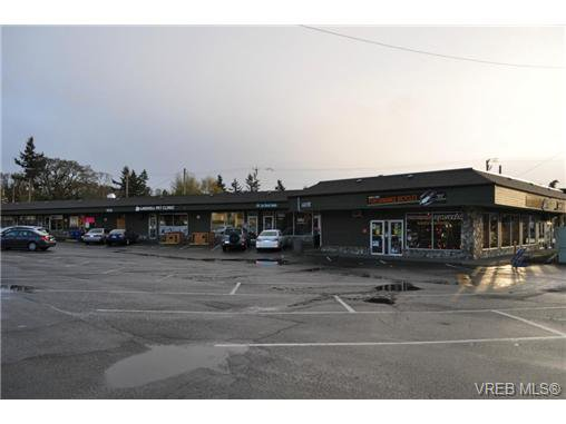 Main Photo: A 3947 Quadra Street in VICTORIA: SE Maplewood Office for sale (Saanich East)  : MLS®# 336228
