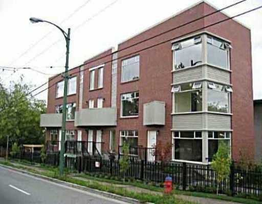 """Main Photo: 999 W 20TH AV in Vancouver: Cambie Townhouse for sale in """"OAKCREST TERRACE"""" (Vancouver West)  : MLS®# V601990"""