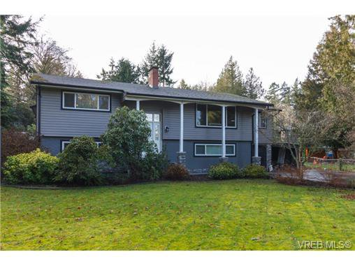 Main Photo: 8590 East Saanich Rd in NORTH SAANICH: NS Dean Park House for sale (North Saanich)  : MLS®# 720237