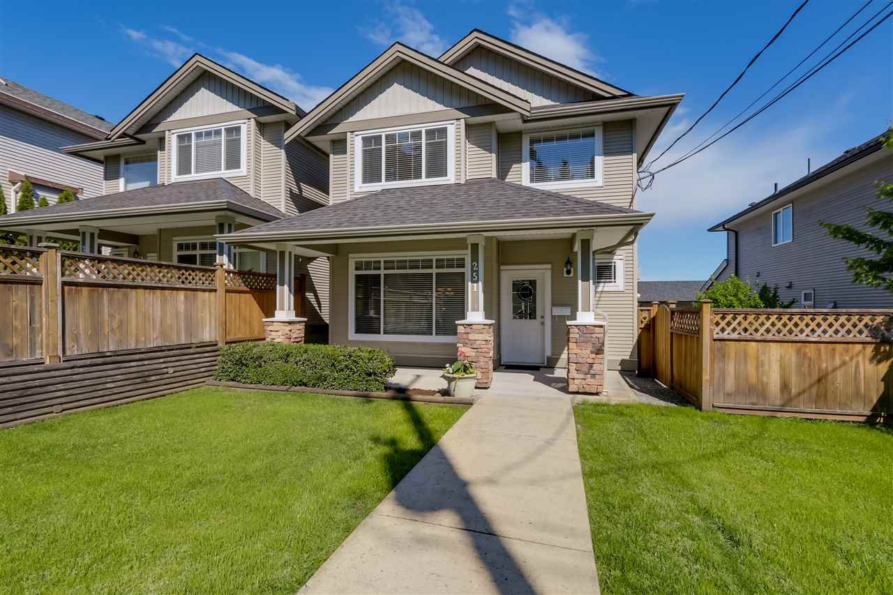 Main Photo: 251 BLUE MOUNTAIN Street in Coquitlam: Maillardville House 1/2 Duplex for sale : MLS®# R2067481