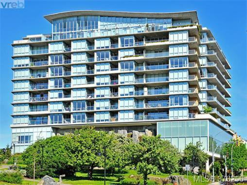 Main Photo: 1201 160 Wilson St in VICTORIA: VW Victoria West Condo Apartment for sale (Victoria West)  : MLS®# 755285