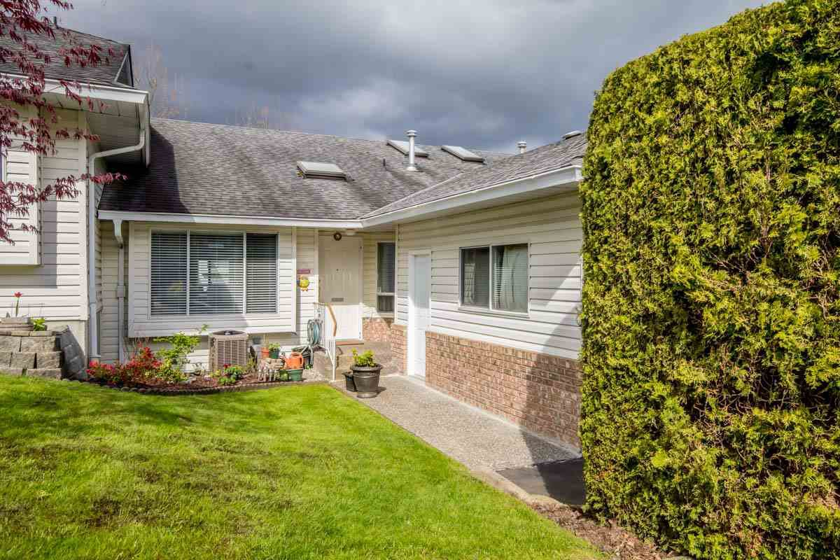 Main Photo: 38 3054 TRAFALGAR Street in Abbotsford: Central Abbotsford Townhouse for sale : MLS®# R2160186
