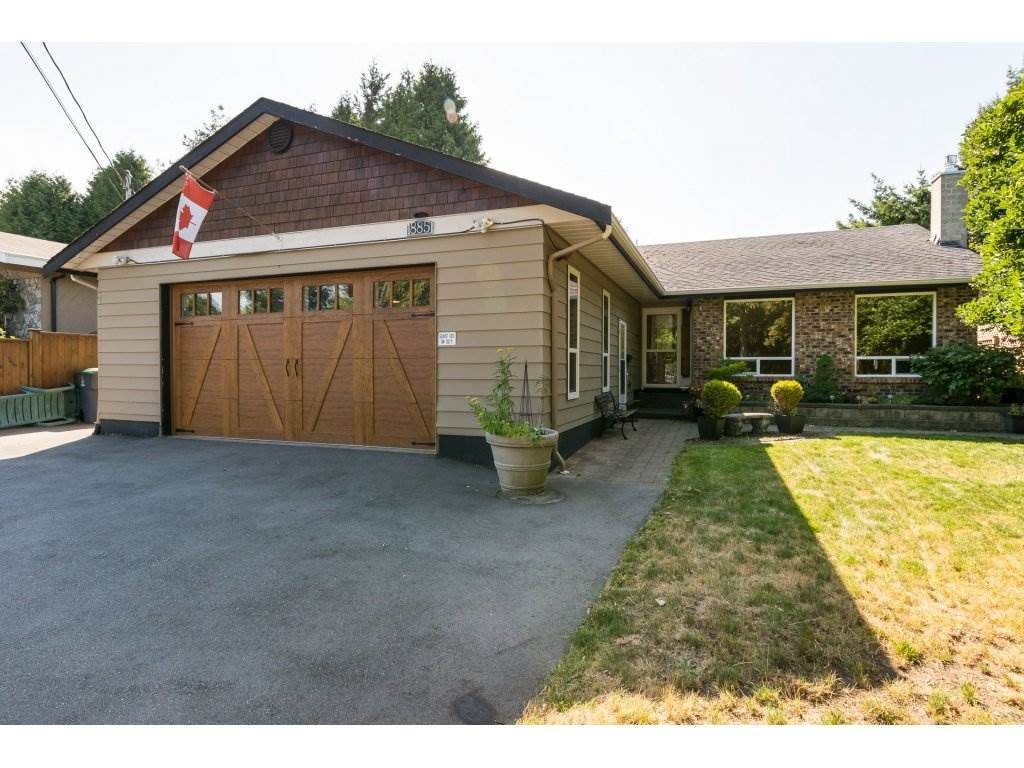 Main Photo: 1885 156 Street in Surrey: King George Corridor House for sale (South Surrey White Rock)  : MLS®# R2196371