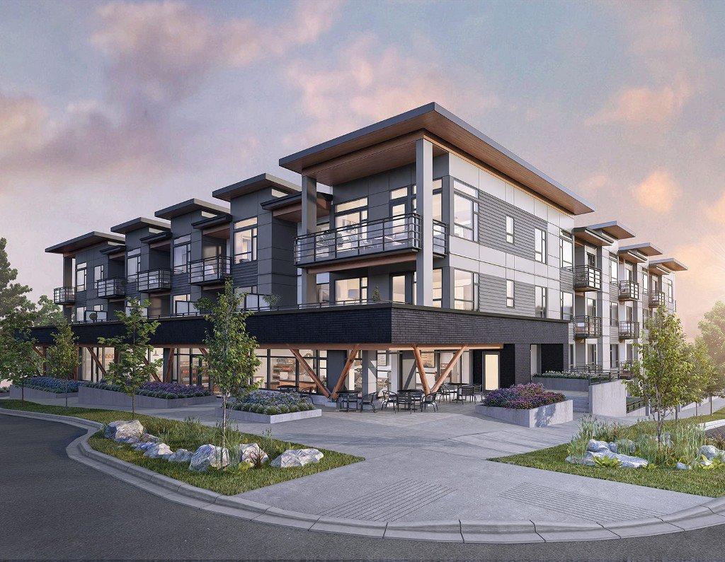 Main Photo: 202 705 715 W 15th Street in North Vancouver: Hamilton Condo for sale