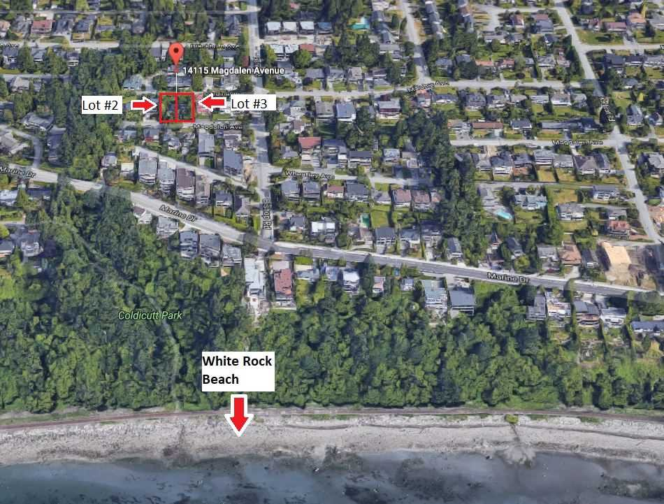 Main Photo: LT.2 MAGDALEN AVENUE: White Rock Land for sale (South Surrey White Rock)  : MLS®# R2223350