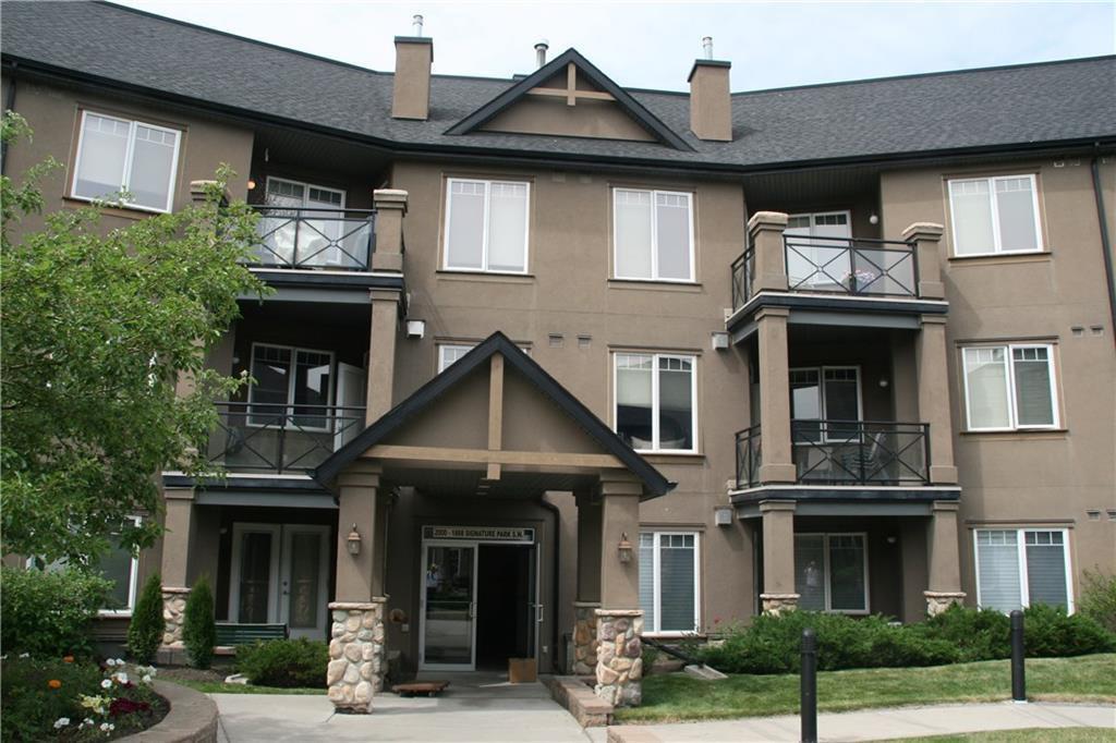 Main Photo: 2209 1888 SIGNATURE Park SW in Calgary: Signal Hill Apartment for sale : MLS®# C4192550