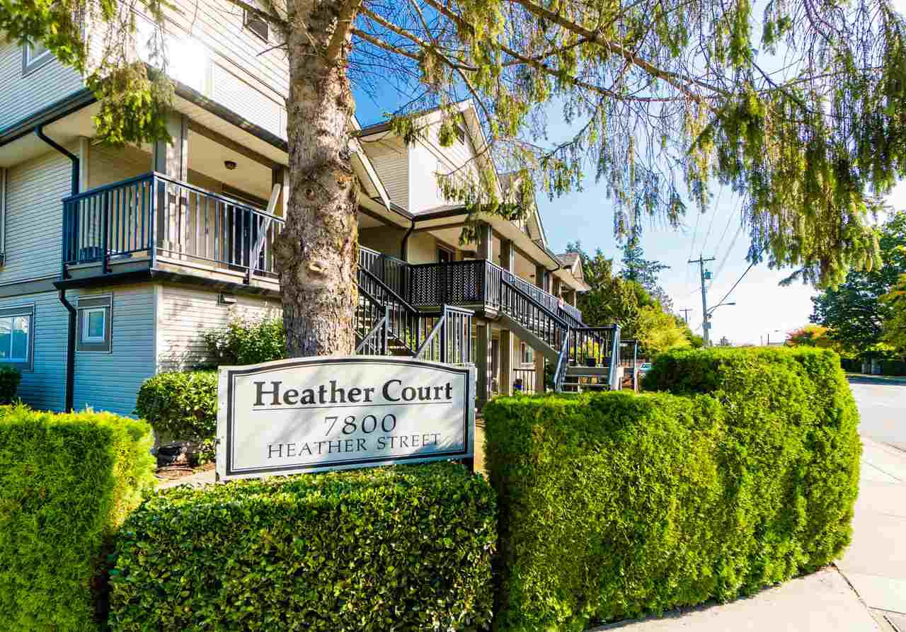 Main Photo: 5 7800 HEATHER Street in Richmond: McLennan North Townhouse for sale : MLS®# R2309332