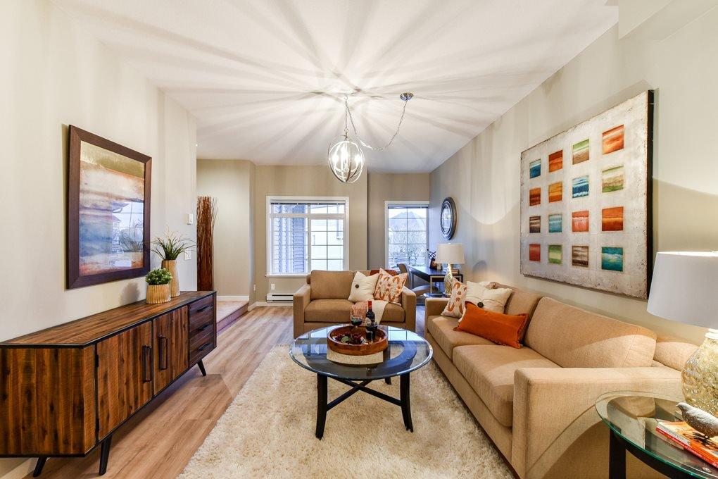 "Main Photo: 4 6852 193 Street in Surrey: Clayton Townhouse for sale in ""Indigo"" (Cloverdale)  : MLS®# R2318494"