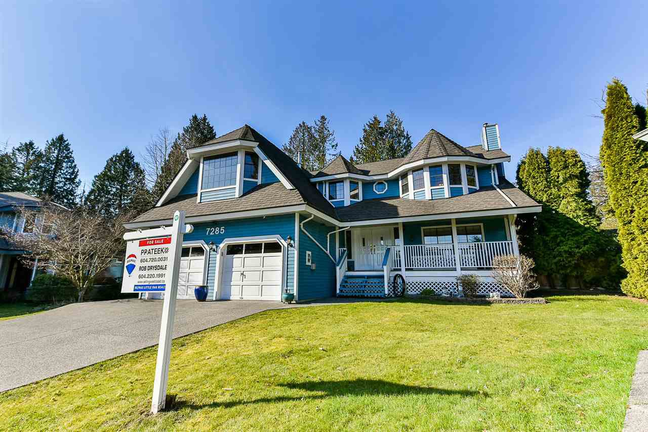 "Main Photo: 7285 150A Street in Surrey: East Newton House for sale in ""CHIMNEY HILLS"" : MLS®# R2351483"