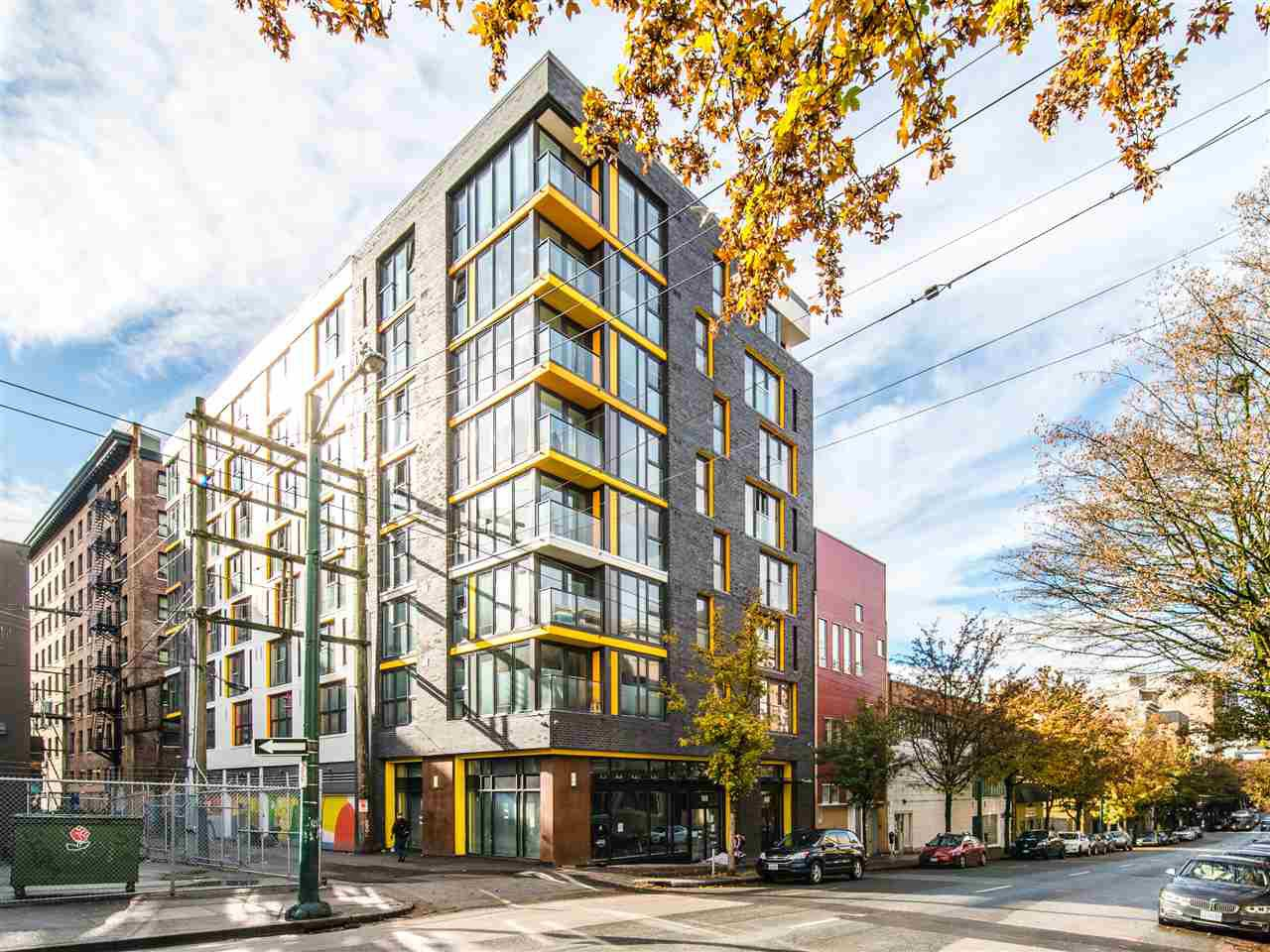 """Main Photo: 605 150 E CORDOVA Street in Vancouver: Downtown VE Condo for sale in """"InGastown"""" (Vancouver East)  : MLS®# R2361641"""