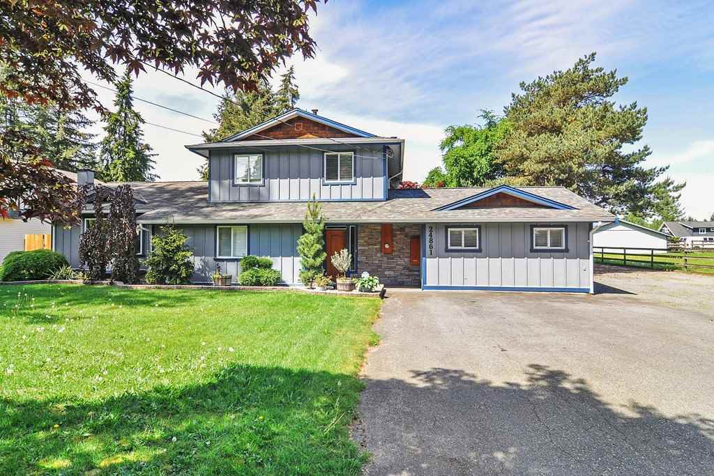 Main Photo: 24861 56 Avenue in Langley: Salmon River House for sale : MLS®# R2370533