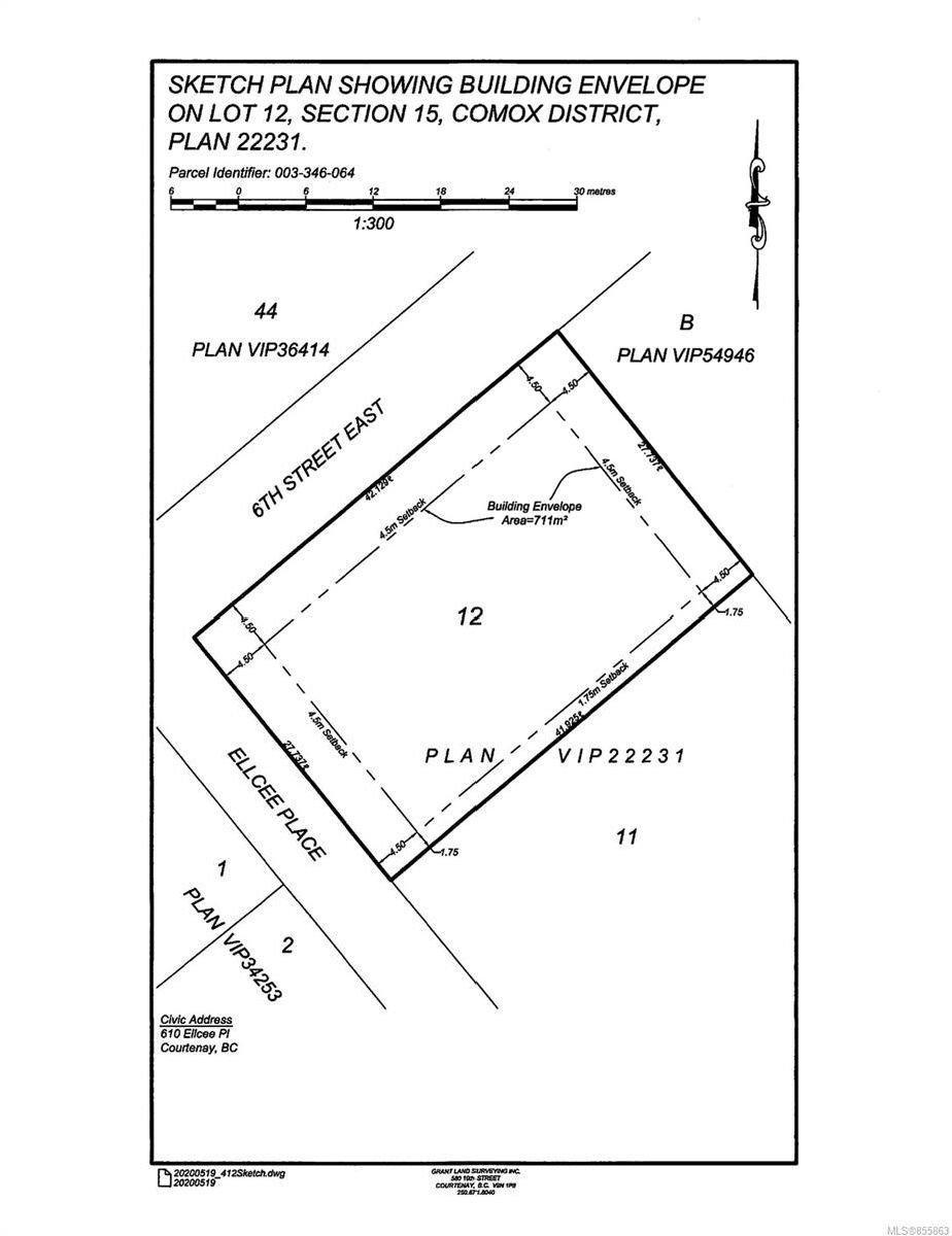Main Photo: 610 Ellcee Pl in : CV Courtenay East Land for sale (Comox Valley)  : MLS®# 855863