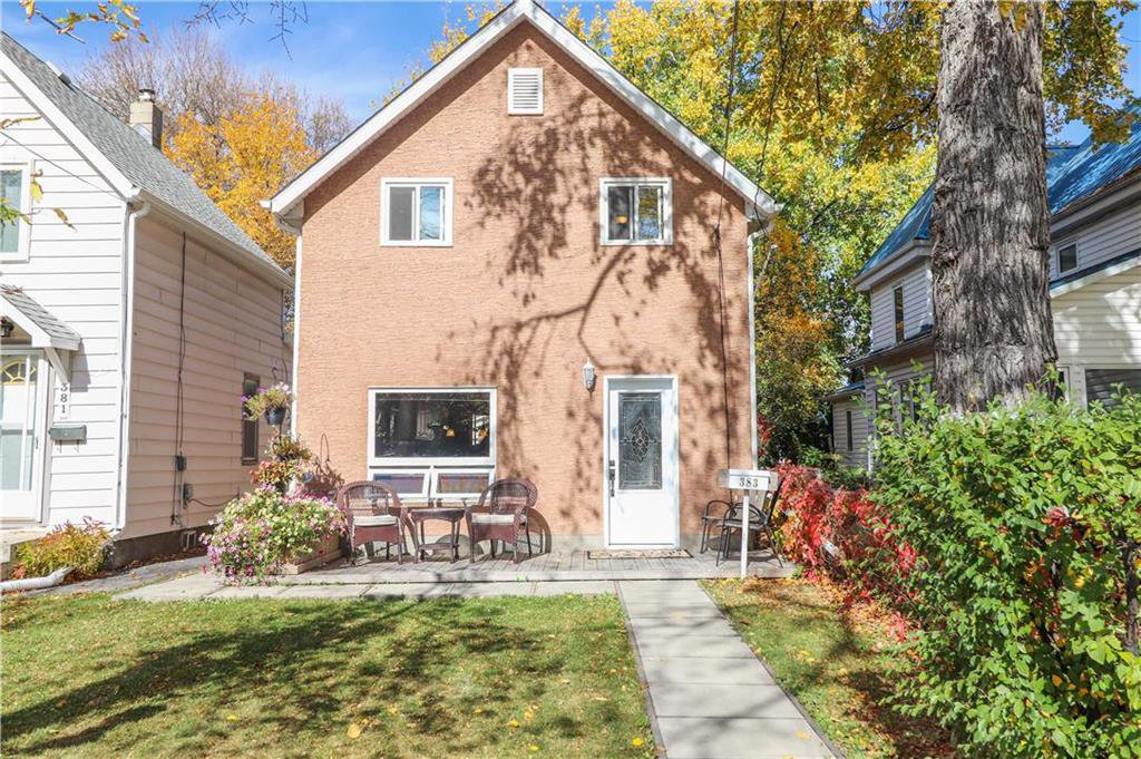 Main Photo: 383 Deschambault Street in Winnipeg: St Boniface Residential for sale (2A)  : MLS®# 202024863