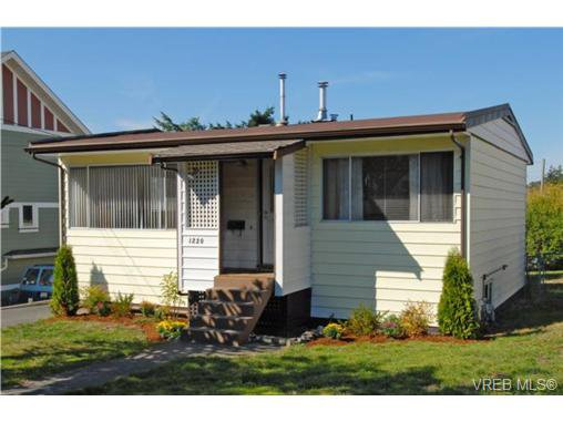 Main Photo: 1220 Princess Ave in VICTORIA: Vi Fernwood Single Family Detached for sale (Victoria)  : MLS®# 699875