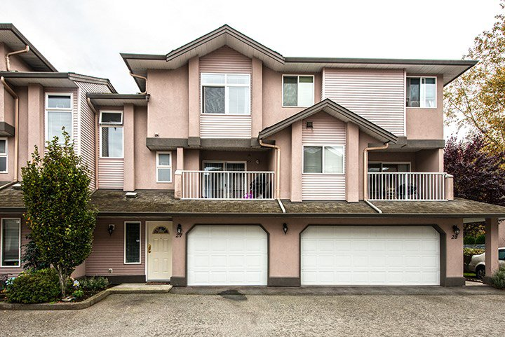 Main Photo: 27 2538 PITT RIVER Road in Port Coquitlam: Mary Hill Townhouse for sale : MLS®# R2010113
