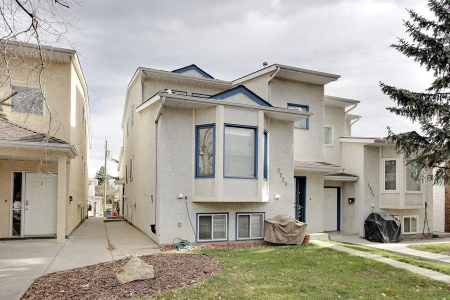 Main Photo: 2 29 Street SW in Calgary: 4 Plex for sale : MLS®# C3642111