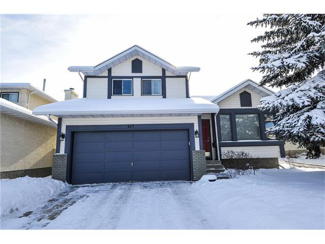 Main Photo: 207 MILLRISE Drive SW in Calgary: Millrise House for sale : MLS®# C4098697