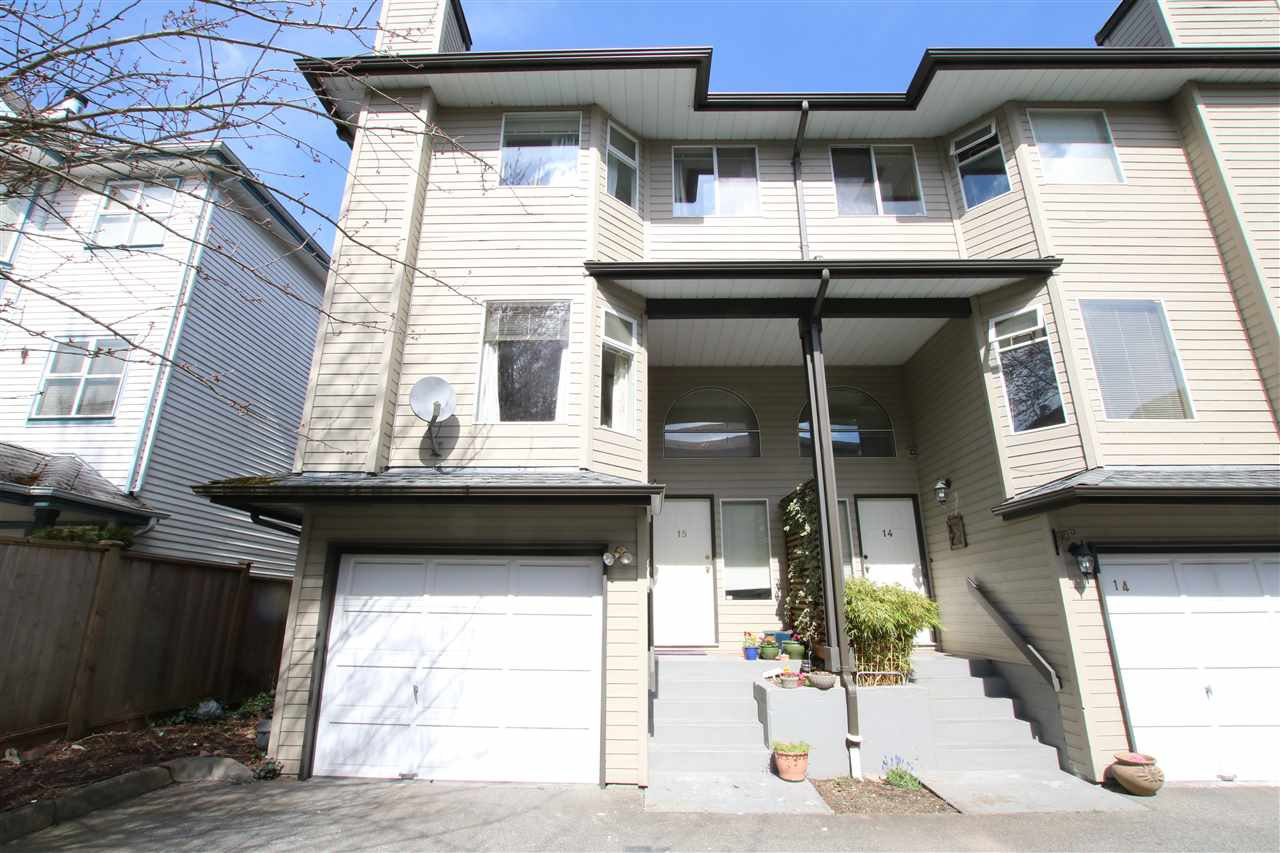 Main Photo: 15 8751 BENNETT ROAD in Richmond: Brighouse South Townhouse for sale : MLS®# R2152089