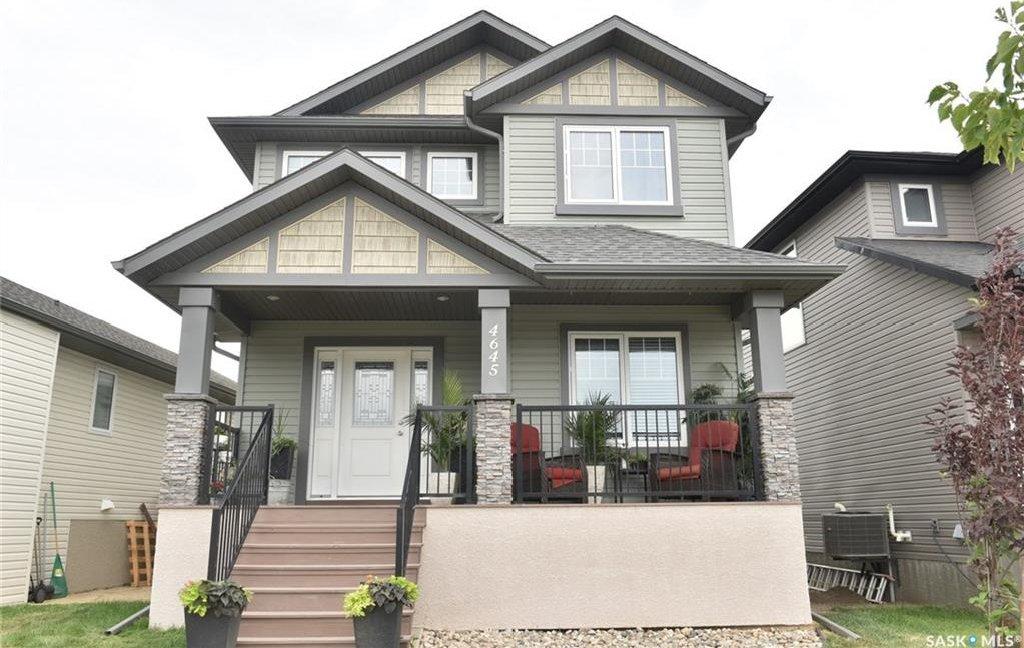 Main Photo: 4645 James Hill Road in Regina: Harbour Landing Residential for sale : MLS®# SK701609