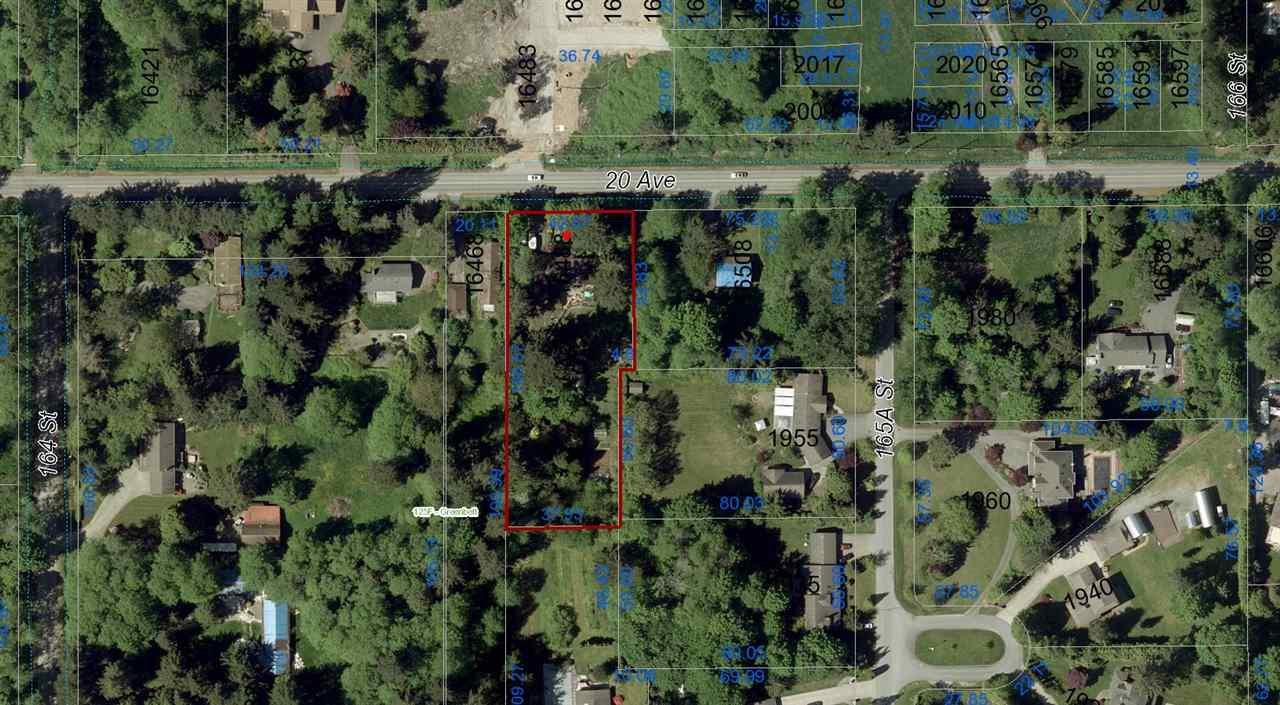 Photo 2: Photos: 16488 20 Avenue in Surrey: Grandview Surrey House for sale (South Surrey White Rock)  : MLS®# R2292354