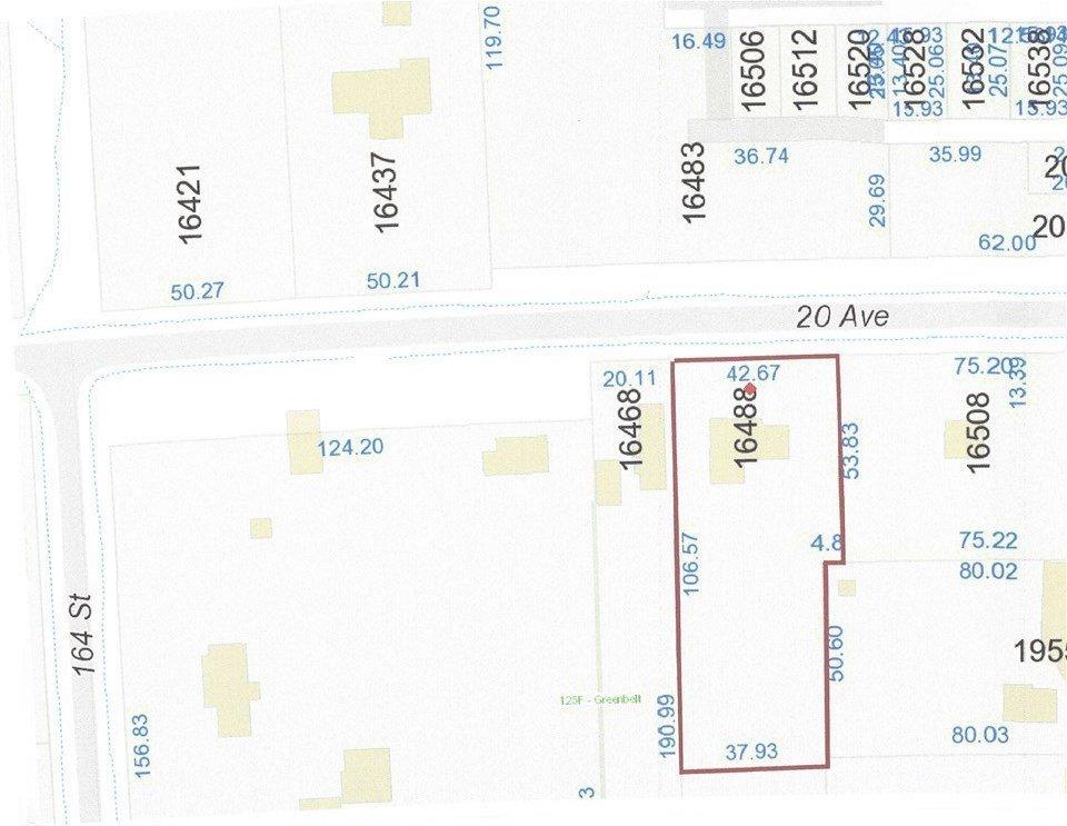 Main Photo: 16488 20 Avenue in Surrey: Grandview Surrey House for sale (South Surrey White Rock)  : MLS®# R2292354