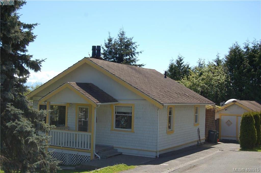 Main Photo: 3552 Calumet Ave in VICTORIA: SE Quadra Single Family Detached for sale (Saanich East)  : MLS®# 812576