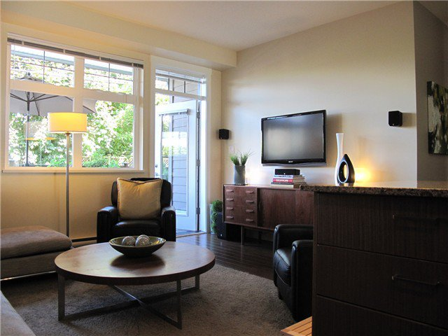 Main Photo: 2280 ST GEORGE Street in VANCOUVER: Mount Pleasant VE Townhouse for sale (Vancouver East)  : MLS®# V969943
