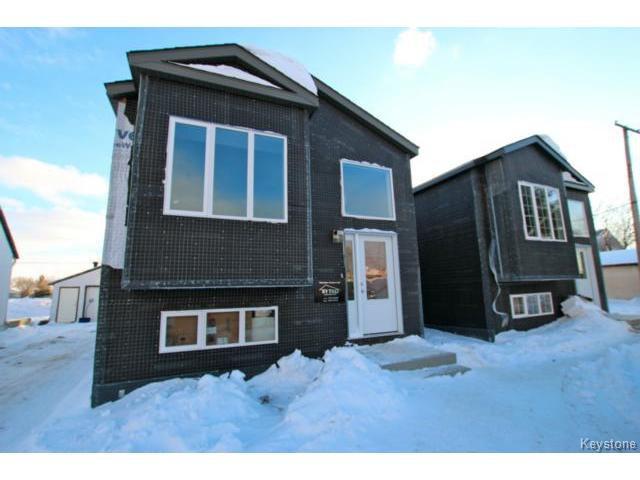 Main Photo: 1036 Blair Street in WINNIPEG: St Boniface Residential for sale (South East Winnipeg)  : MLS®# 1402144