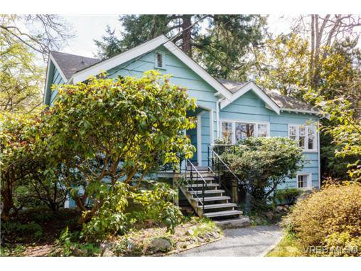 Main Photo: 1233 Palmer Rd in VICTORIA: SE Maplewood House for sale (Saanich East)  : MLS®# 697106