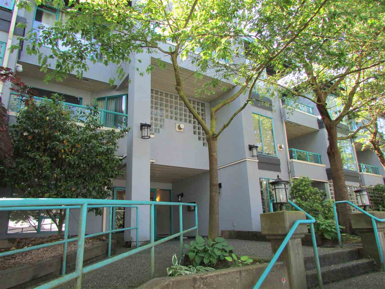 "Main Photo: 103 1966 COQUITLAM Avenue in Port Coquitlam: Glenwood PQ Condo for sale in ""PORTICA WEST"" : MLS®# R2065717"