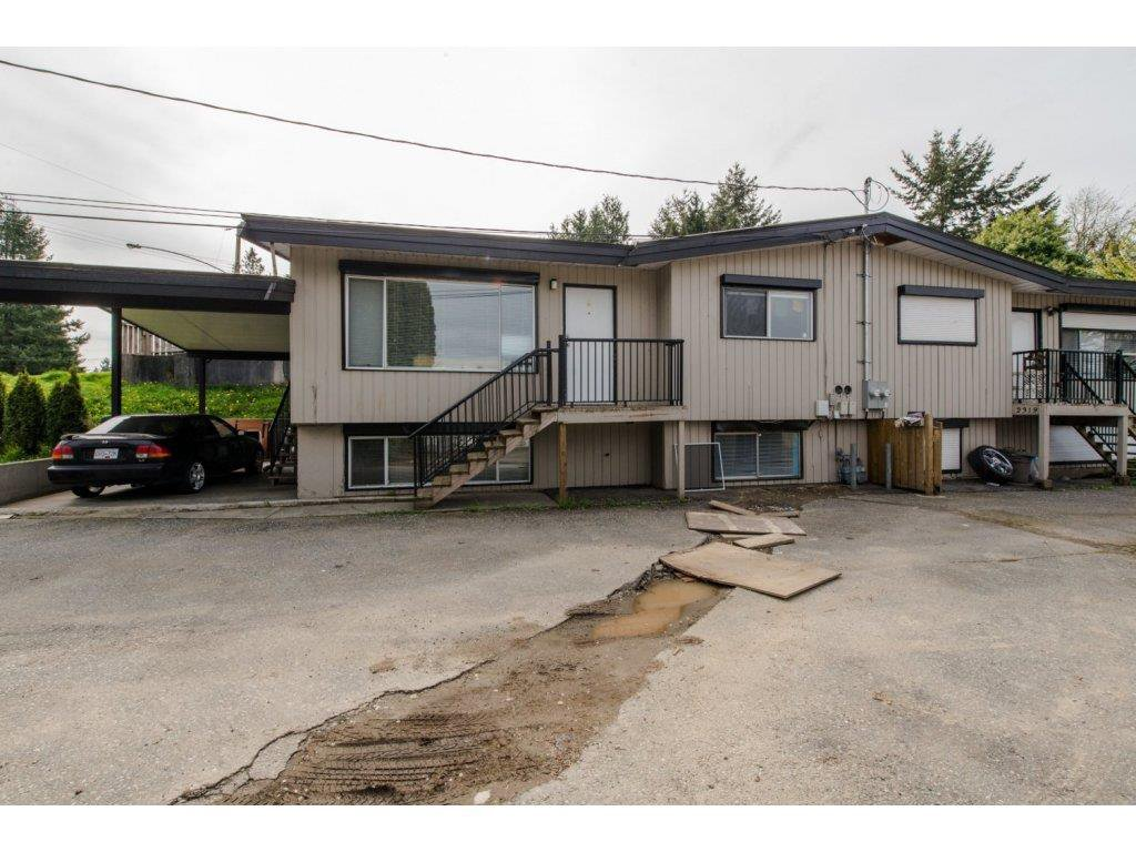 Main Photo: 2317 - 2319 SOUTHDALE Crescent in Abbotsford: Abbotsford West Duplex for sale : MLS®# R2080109