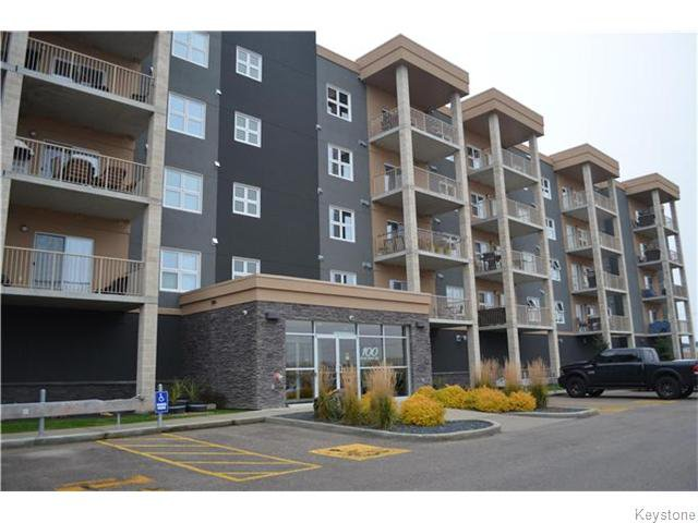 Main Photo: 100 Creek Bend Road in Winnipeg: River Park South Condominium for sale (2F)  : MLS®# 1628048