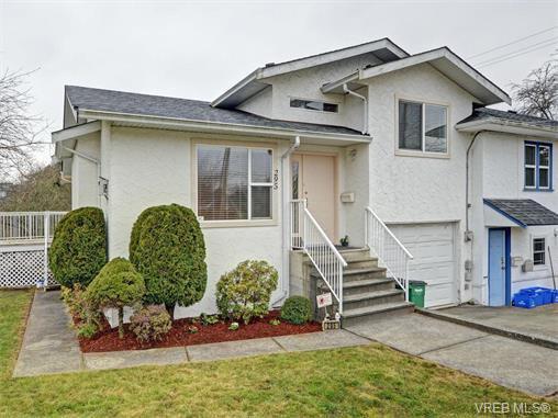 Main Photo: 295 Nicola Pl in VICTORIA: SW Tillicum Half Duplex for sale (Saanich West)  : MLS®# 749640